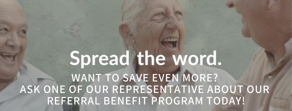 Referral benefit program